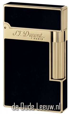 S.T. Dupont L2 Black Chinese Lacquer and Gold