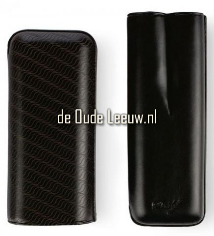 Davidoff Cigar Case Leather Black The Enjoyment