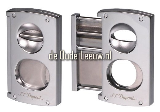 S.T. Dupont Cigar Cutter Double Blade Chrome